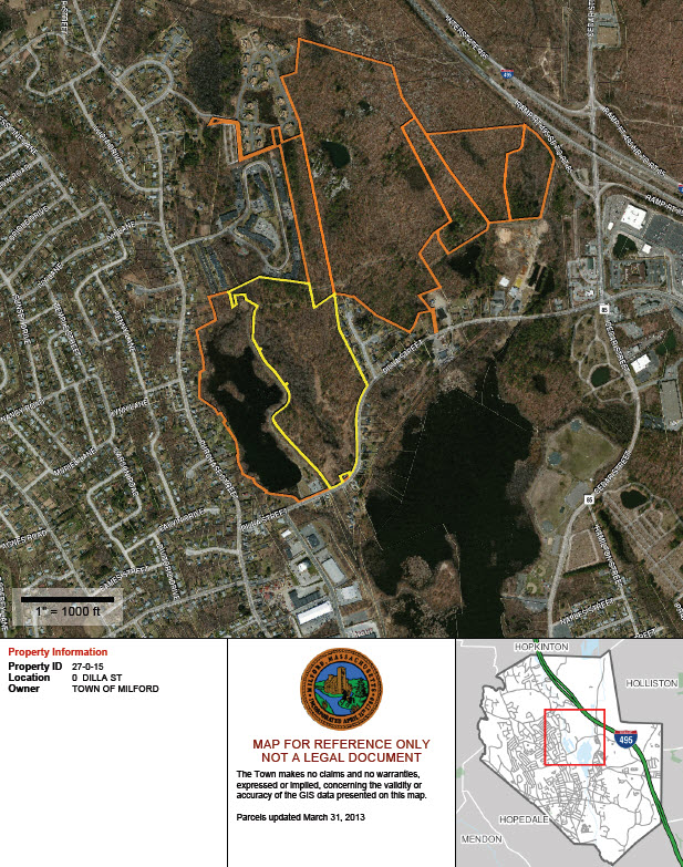 Conservation Land Parcels to be Authorized for Transfer to the Trustees at May 19th Town Meeting
