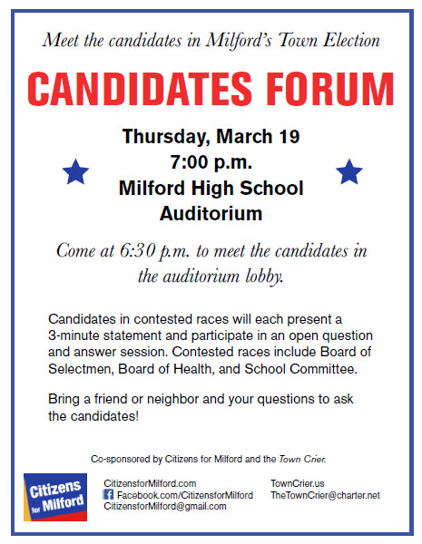 Candidates Forum 2015 Flyer Image