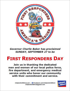 First Responders Flyer Graphic